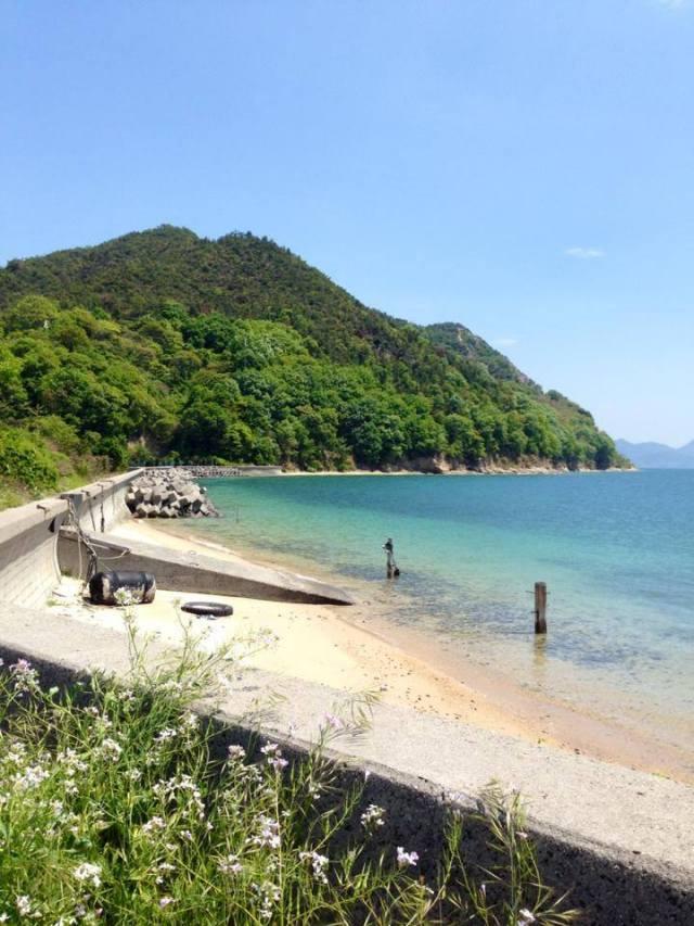 #大三島の宿#海そら#コテージ#ビーチ